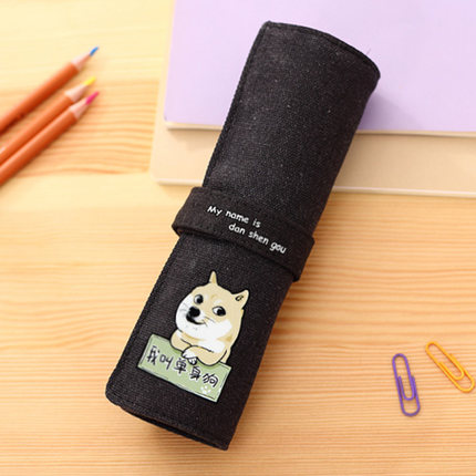 กระเป๋าเครื่องเขียน ชิบะ อินุ (Shiba Inu)