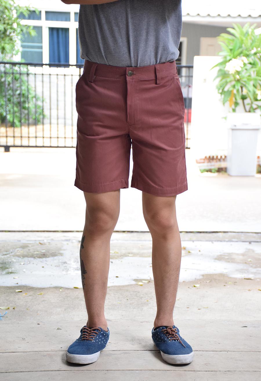 กางเกงขาสั้นสี โอวัลติน