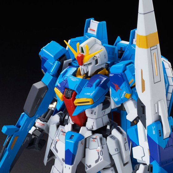 P-bandai:RG 1/144 Zeta Gundam (RG Limited Color ver.) 3456yen