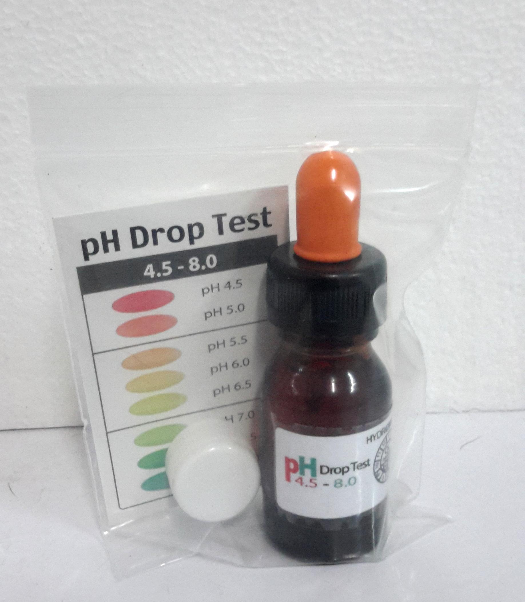 PH Drop Test (อินดิเคเตอร์) สำหรับมือใหม่