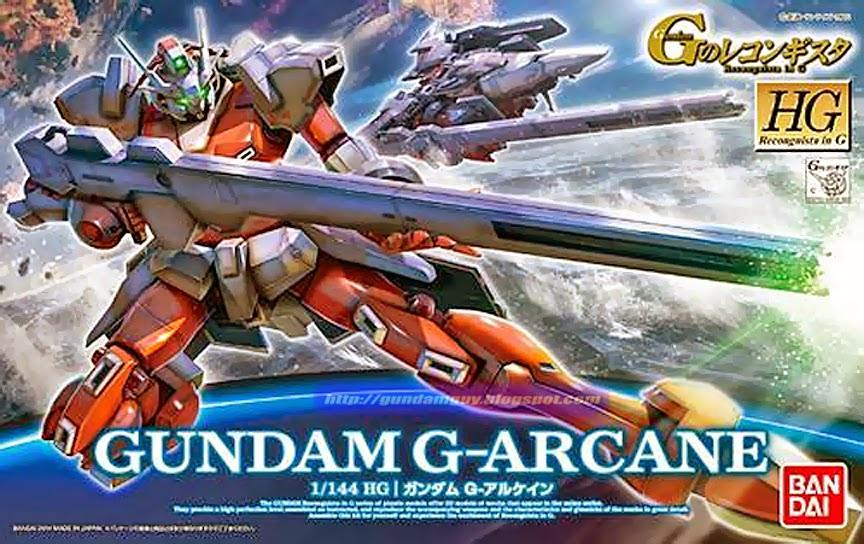 HG GS03 1/144 G-Arcnae 1600y