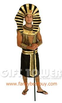 ชุดแฟนซีผู้ชาย ชุดประจำชาติอียิปต์ Pharaoh King ขนาดฟรีไซด์