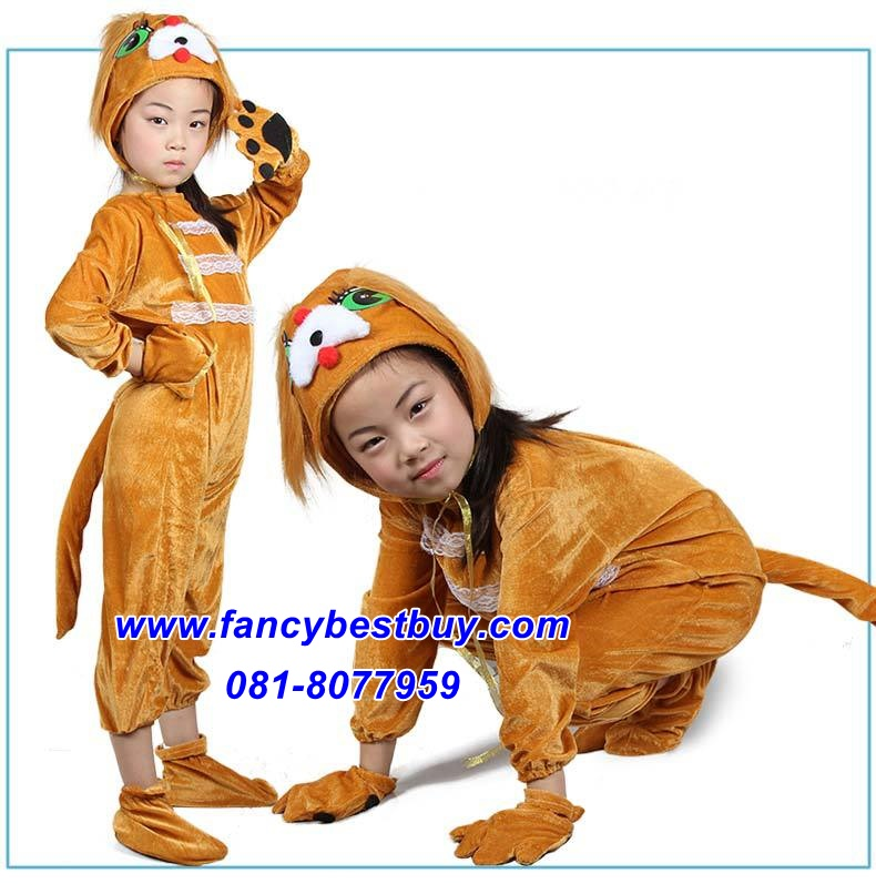 ชุดหมา Dog สำหรับการแสดง ใช้ได้ทั้งเด็กชายหญิง มีขนาด M, L