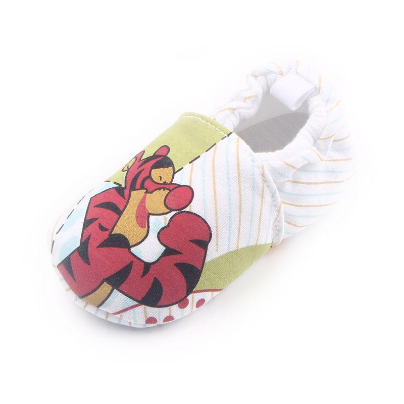 รองเท้าเด็กอ่อน 0-12เดือน รองเท้าเด็กชาย เด็กหญิง ลายการ์ตูน เสือ ทริกเกอร์