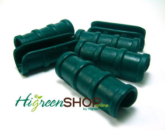 คลิปล็อคสีเขียวขนาด 1/2 นิ้ว(4หุน)