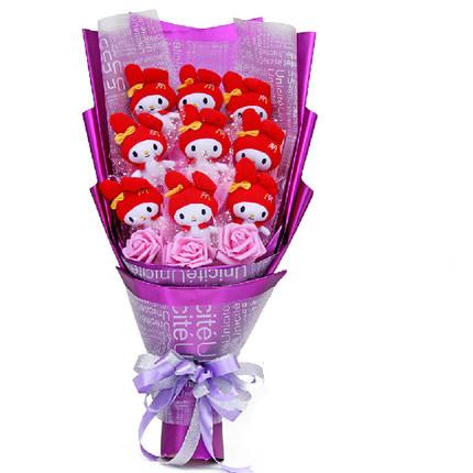 ช่อดอกไม้ตุ๊กตา Miffy