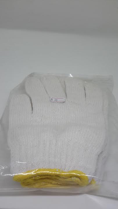 ถุงมือผ้า 2คู่/แพ็ค