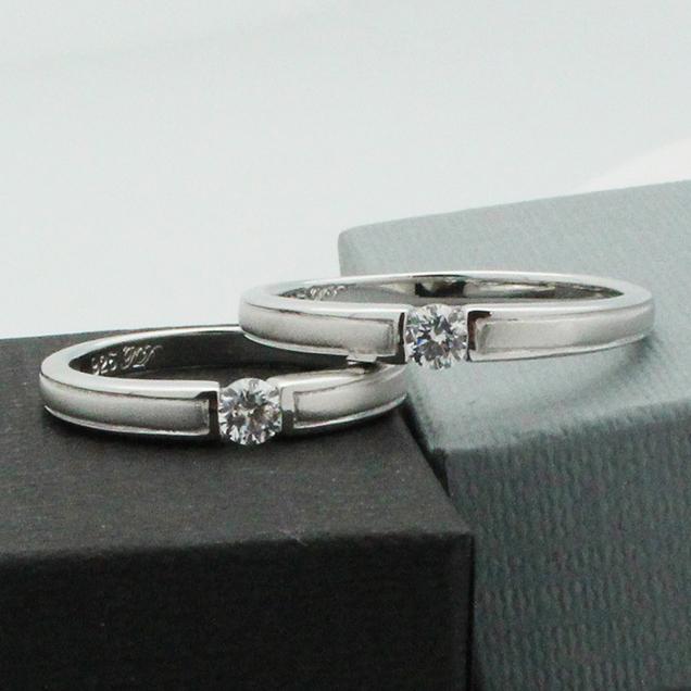 แหวนคู่ แหวนหมั้น แหวนแต่งงาน TSR168