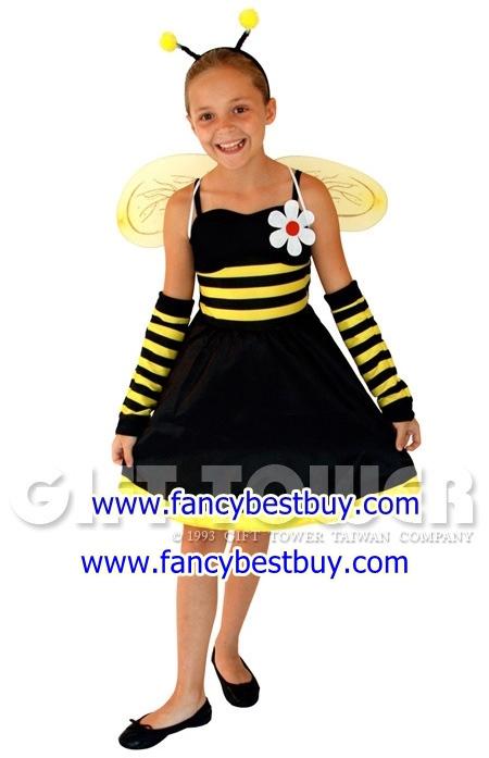 ชุดเด็กแฟนซีผึ้งน้อย แบบที่ 4 ขนาด M, XL