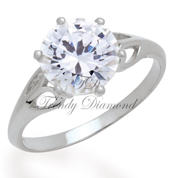 แหวนเพชร แหวนSweetheath สีทองคำขาว