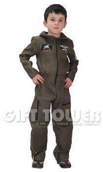 ชุดแฟนซีทหารอากาศเด็กชาย Airforce Boy มีขนาด M, L, XL