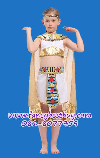 ชุดครีโอพัตรา ชุดประจำชาติอียิปต์ เจ้าหญิงอียิปต์ ขนาด L, XL