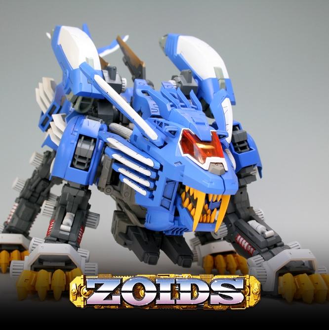 ZOIDS 1/72 Blade Liger AB Bang Ver.
