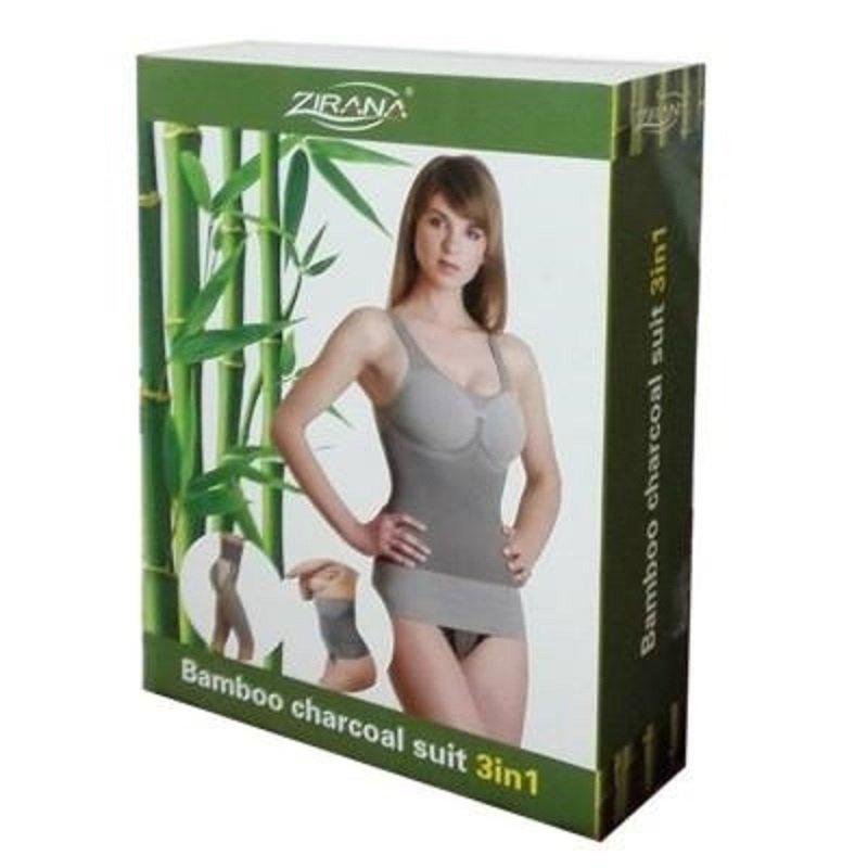 ชุดกระชับสัดส่วนZirana Bamboo Charcoal Suit 3in1