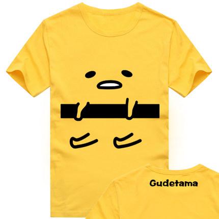 เสื้อยืดแขนสั้น Gudetama - ไข่จอมขี้เกียจ