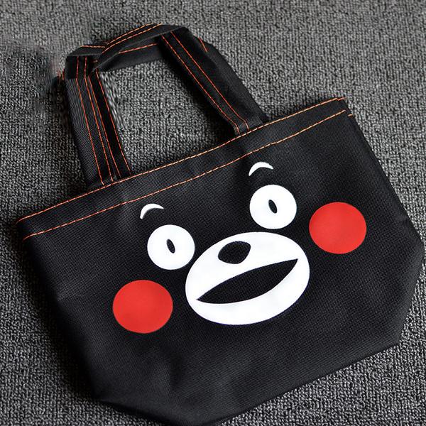 กระเป๋าสะพายผ้า คุมะมง Kumamon