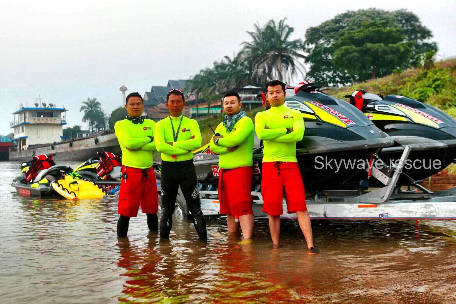 ทีม Skywave Rescue