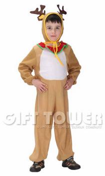 ชุดกวางเรนเดียร์ เป็นชุดแฟนซีสัตว์สำหรับคริสมาส หรือ การแสดง Raindeer ใช้ได้ทั้งเด็กชายหญิง ขนาด S, M, L