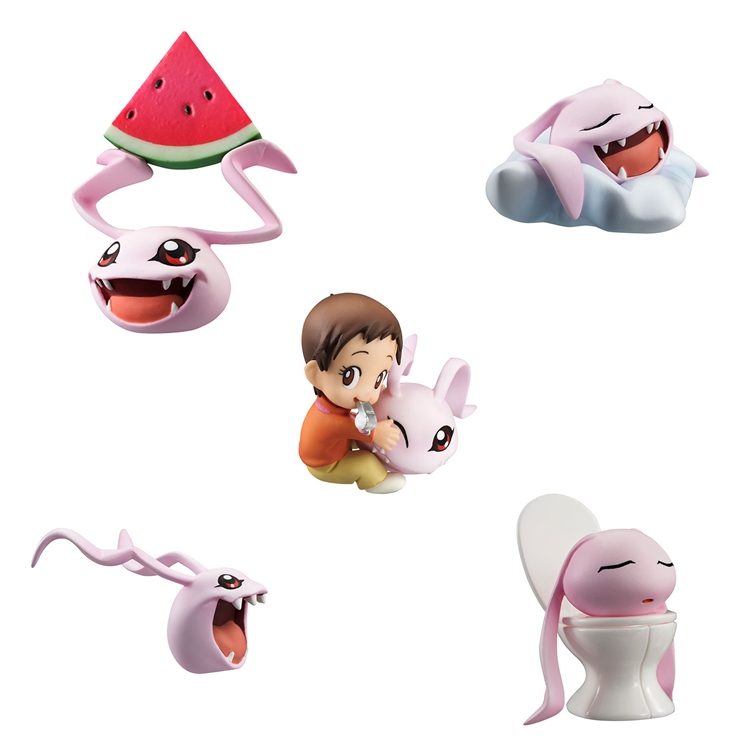 DigiColle - Koromon, Yagami Hikari (Digimon Adventure)