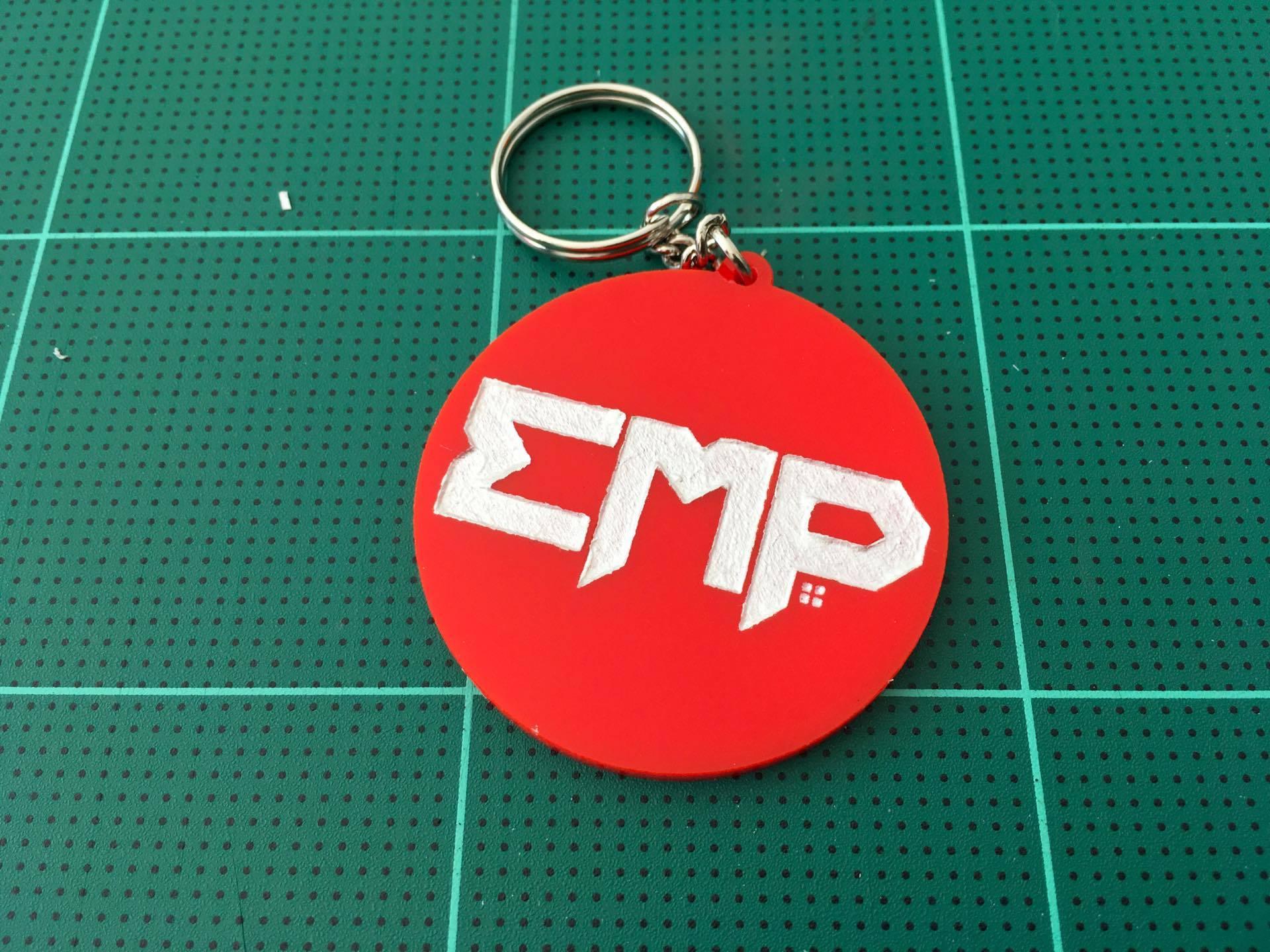 พวงกุญแจ Logo EMP อะคริลิค