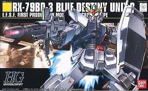 HGUC 1/144 82 Blue Destiny Unit3 1500y