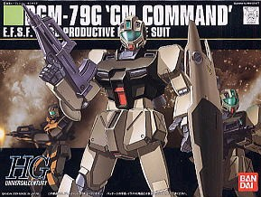 HGUC 1/144 46 GM Command Type C Colony White 800y