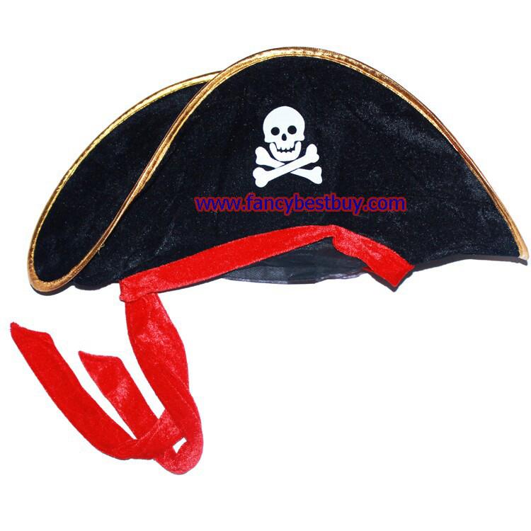 หมวกโจรสลัด แบบนิ่ม กว้าง 49 ซม. สูง 20 ซม.