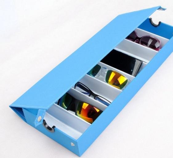 กล่องเก็บแว่นตา ชนิดผ้าสังเคราห์งานเกรด A