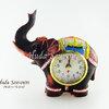 ของที่ระลึก นาฬิกาพรีเมี่ยม ช้างเรซิ่นติดพลอย ปั้มลายเนื้อนูน สินค้าบรรจุในกล่องมาให้เรียบร้อย สินค้าพร้อมส่ง