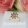 แหวน ดอกไม้สีทอง