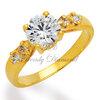 แหวนเพขร Mini Angel สีทอง