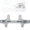 JR Multi Roller Setting Stay - Rear HG Carbon (3mm/Silver)