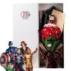 ช่อดอกไม้โมเดลการ์ตูนรวมฮีโร่ The Avengers ดิ เอเวนเจอร์ส (มีให้เลือก 9 แบบ)