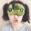 ผ้าปิดตา Pepe Frog (มีให้เลือก 2 แบบ)