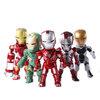 โมเดลไอรอนแมน Ironman 3(ชุดที่ 5) ในชุดมี 6 ตัว/ชุด