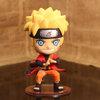 นารูโตะ Naruto รุ่นหัวโต ฐานใส(มีกล่อง)