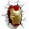 โคมไฟติดผนัง 3D หัวไอรอนแมน Ironman (ลิขสิทธิ์แท้)