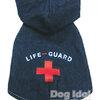 **ไซส์ 2 พร้อมส่งค่ะ**เสื้อแจคเกตฮู้ดผ้ายีนส์ Life Guard