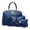 กระเป๋าเซต 3 ใบ สีน้ำเงิน ทรงสวย ดีไซน์ เรียบหรู น่าใช้มากๆค่ะ