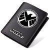 กระเป๋าสตางค์หนังหน่วยซีล S.H.I.E.L.D (มีให้เลือก 3 แบบ)