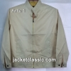 เสื้อแจ็กเก็ต xinyu คอจีนสีคริม 1 ส่งฟรี