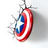 โคมไฟติดผนัง 3D กัปตันอเมริกา (ของแท้ลิขสิทธิ์)