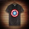 เสื้อยืดลายกัปตันอเมริกาสไตร์เกาหลี 2016 (Captain America)