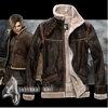 เสื้อหนังขนแกะ Resident Evil (ลีออน)
