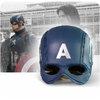หมวกกันน็อคกัปตันอเมริกา Captain America Cosplay**ของแท้ลิขสิทธิ์**