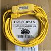 สายสื่อสาร PLC USB-SC09 USB-SC09-FX PLCสายการเขียนโปรแกรมMELSECสนับสนุนwin 7 win8