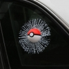 Pokemon - Pokeball 3D Stereo Pigeon Stickers Car (มีให้เลือก 6 แบบ)