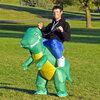 ชุดปาตี้พองลมไดโนเสาร์(สีเขียว)
