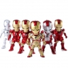 โมเดลไอรอนแมน Ironman 3(ชุดที่ 2) ในชุดมี 6 ตัว/ชุด