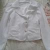 เสื้อคลุมสีขาว ทรงสวย size m